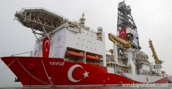 Yavuz sondaj gemisi Akdeniz de arama yapacak