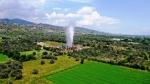 Aydın'da Jeotermal sahasında sıcak su patladı