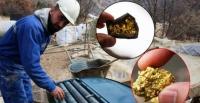Erzurum da altın madeni bulundu